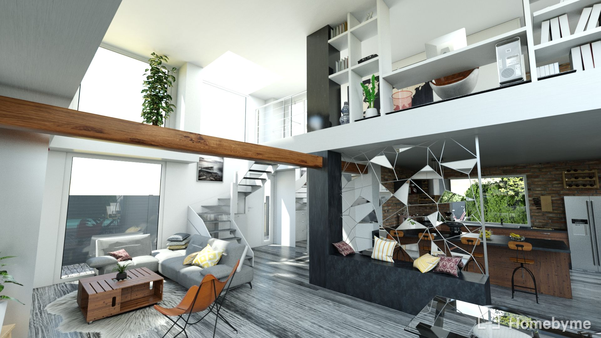 Bring your interior design ideas to life with HomeByMe 3D