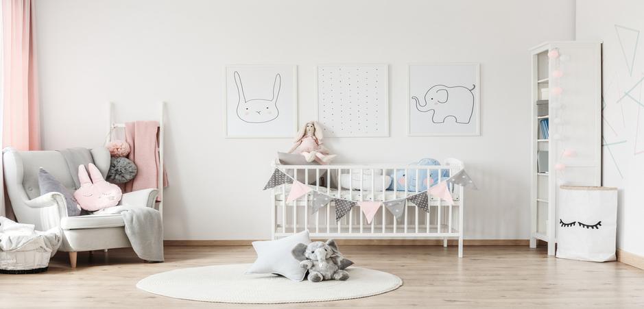 Bien choisir les couleurs d\'une chambre de bébé   HomeByMe