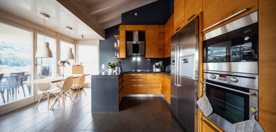 Rich Contrasting Textures For New Character In Your Kitchen Homebyme
