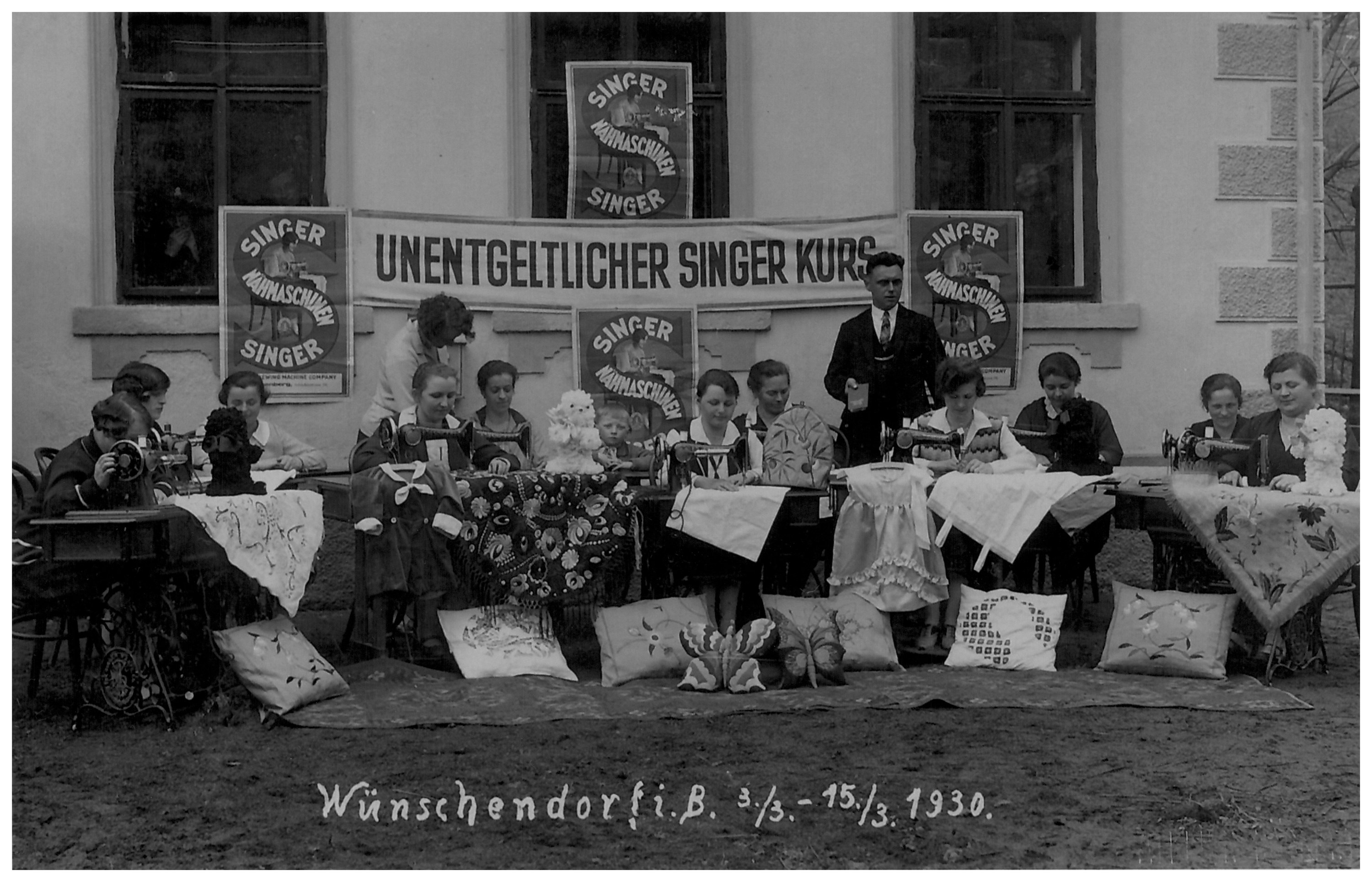Sewing classes in Wunschendorf