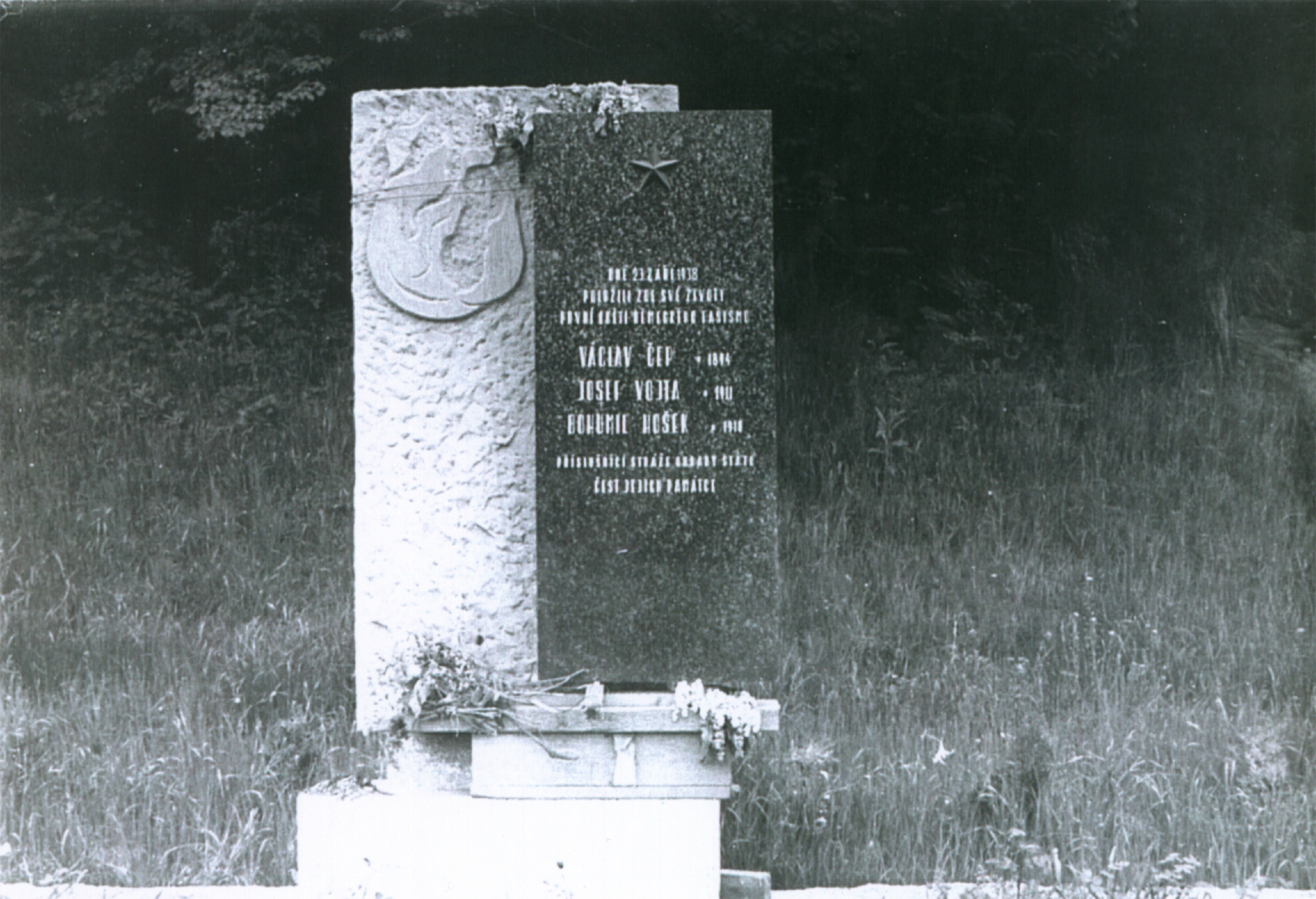Memorial on the border