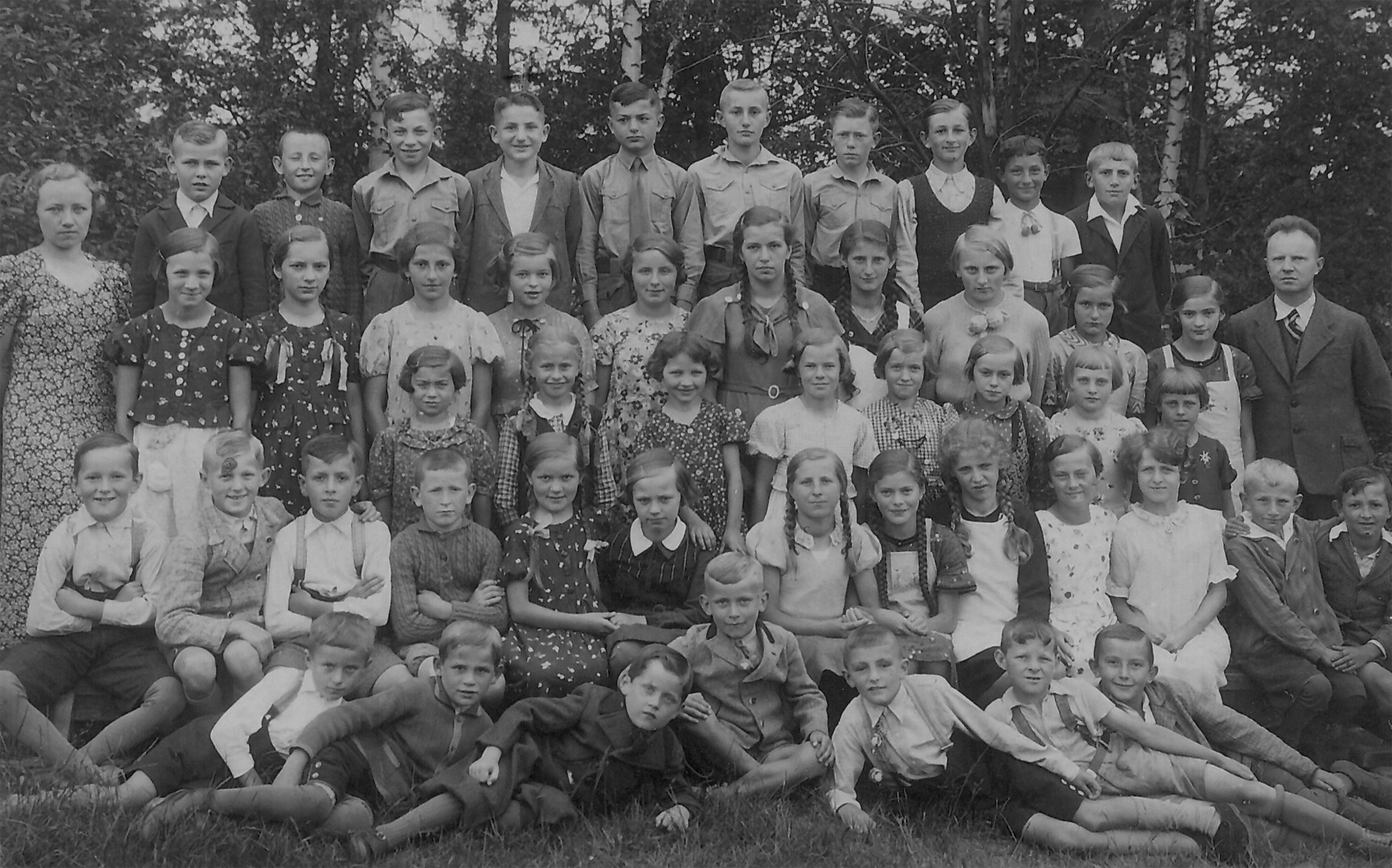 School photograph in Wunschendorf