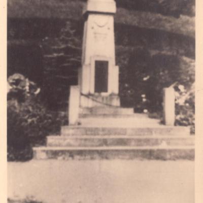 Memorial in Wunschendorf