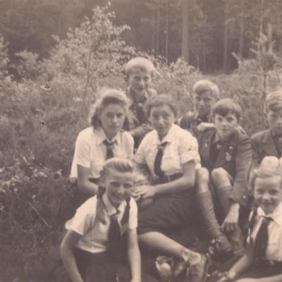 Schoolchildren in Wunschendorf