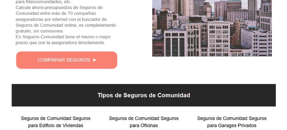 Finanzas Personales: Nace un portal especializado de seguros de Comunidades y Edificios