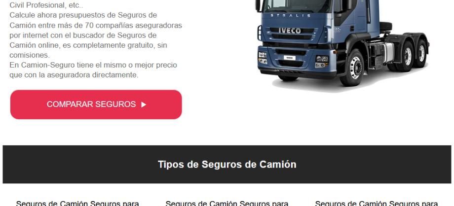 Finanzas Personales: Bajada brutal de precios en los seguros para camiones