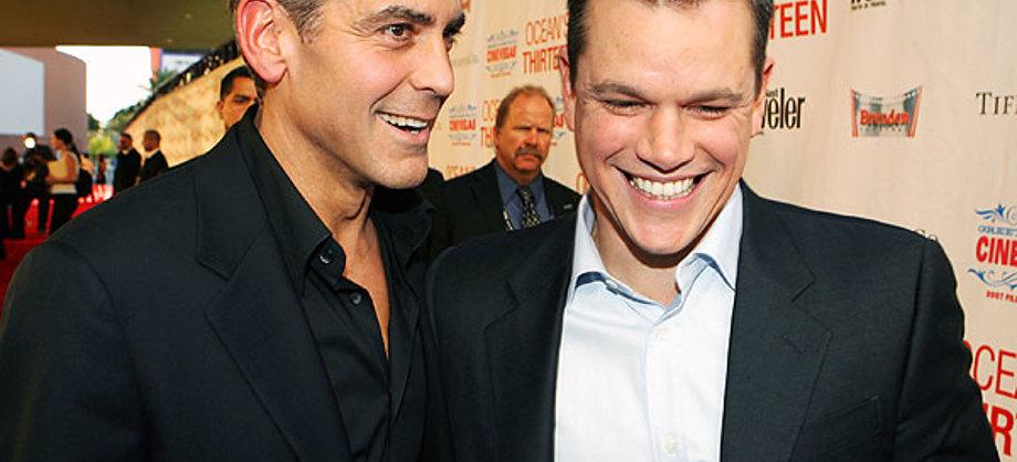 Actualidad: Matt Damon sin aires de divo