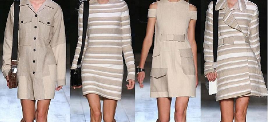 Salud y Medicina: Los tonos arena y naturales de moda en las pasarelas