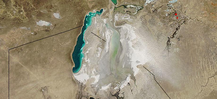 Ciencia: NASA muestra que el Mar de Aral está casi seco