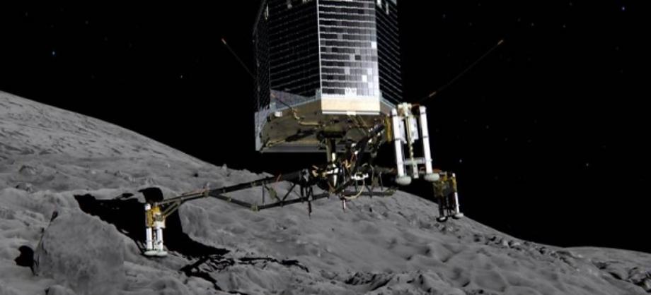 Ciencia: Robot Philae aterriza en cometa