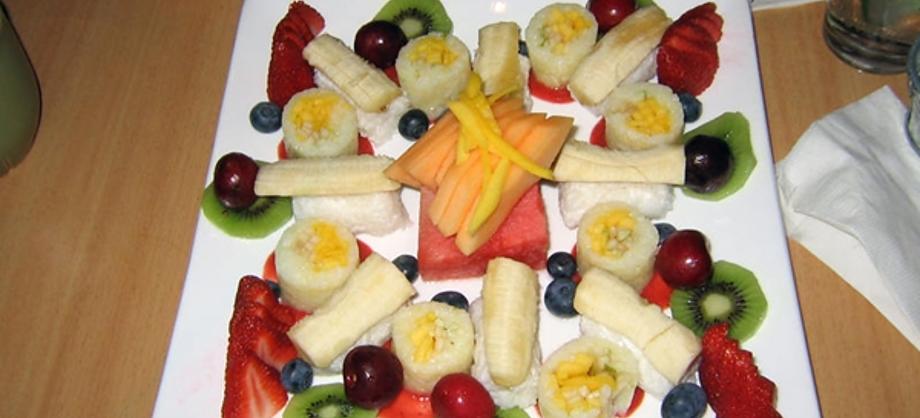 Gastronomía y Recetas: Receta: sushi de frutas