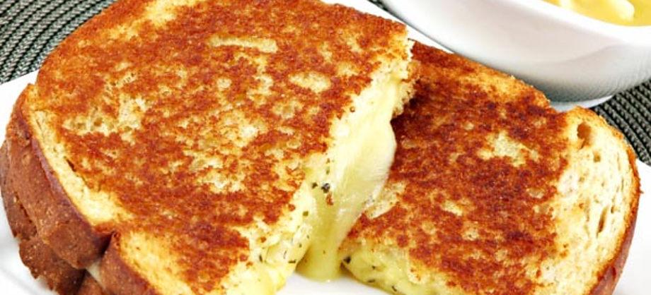 Gastronomía y Recetas: Receta de sándwich con queso fundido