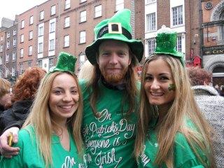 ST PAT'S PARTY DUBLIN