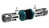 009011 lincaggio motori con giunto a flange per risparmio energetico