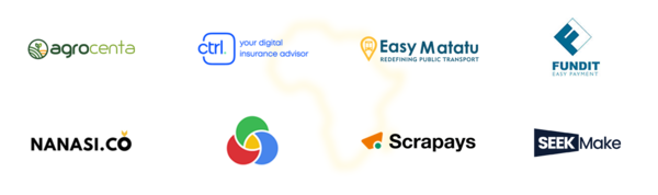 Selected Startups