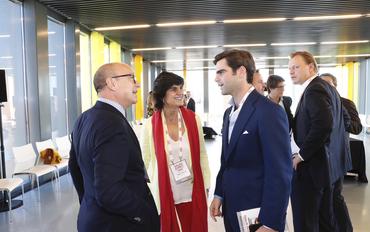 South Summit 2018 - IE María Benjumea, Santiago Iñiguez, Diego del Alcázar
