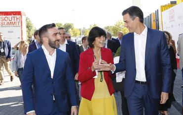 South Summit 2018, Pedro Sanchez, María Benjumea