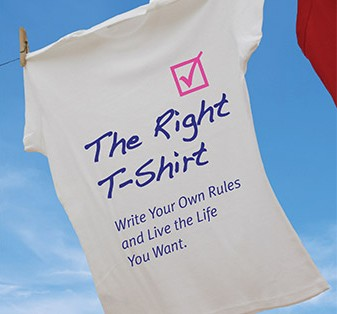 """The Right T-Shirt"" Download the first two chapters of the book"
