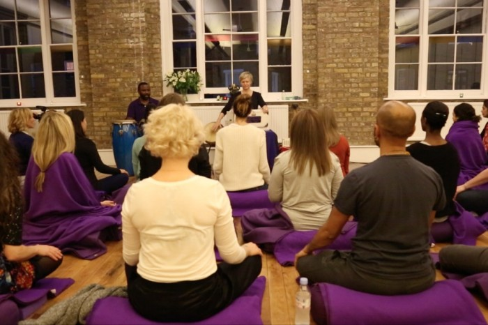 Nikki Slade Kirtan Teacher Training Chanting London