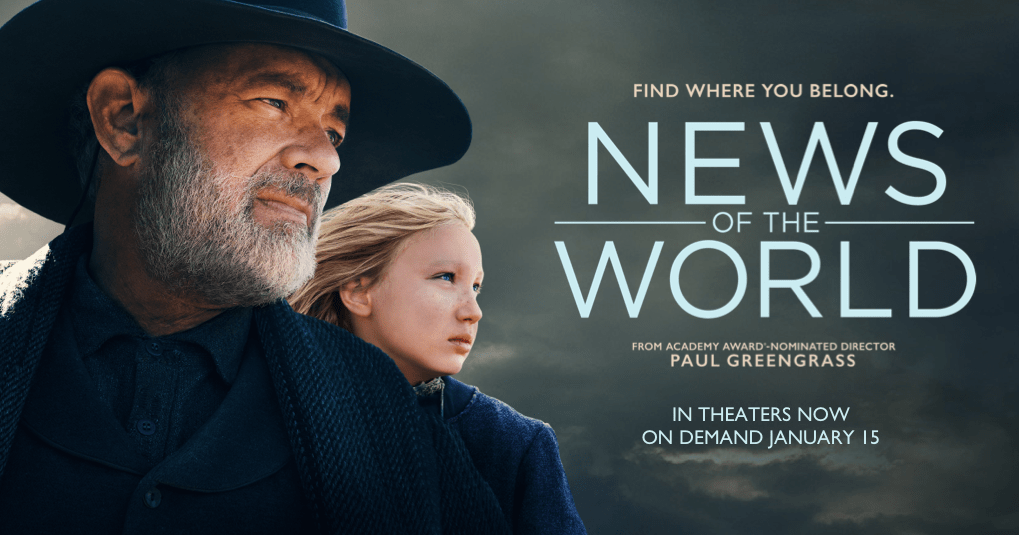 News of the World Poster & Cast Pictures | Now on VOD