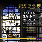 Britten: St Nicolas - Choir of King's College Cambridge & Britten Sinfonia