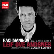 Rachmaninov: Piano Concertos No.3 & No.4 - Leif Ove Andsnes