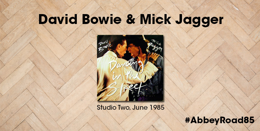 David Bowie & Mick Jagger 'Dancing In The Street' #AbbeyRoad85