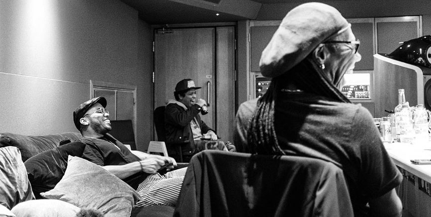 Nile Rodgers And Friends In Studio Three