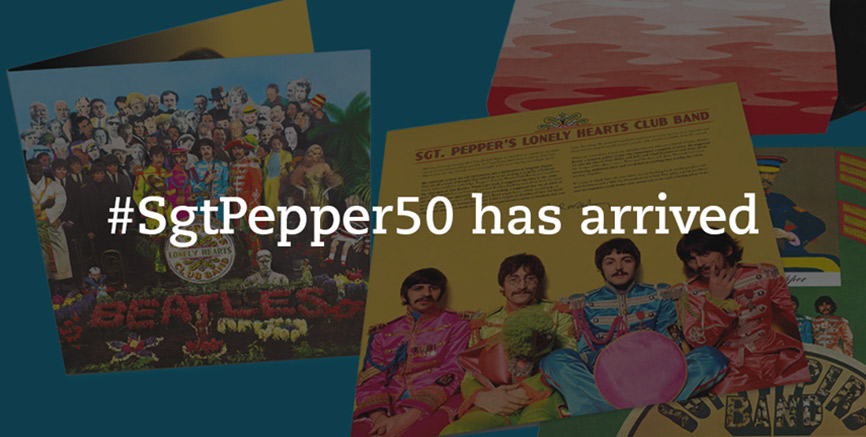 Sgt. Pepper 50th Anniversary Edition Has Arrived