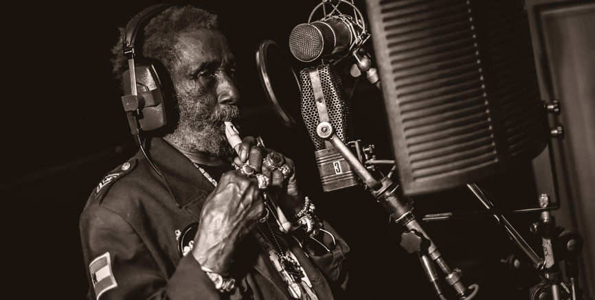 Lee 'Scratch' Perry At Abbey Road