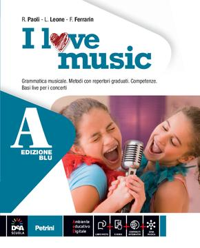I love music vol. A edizione blu