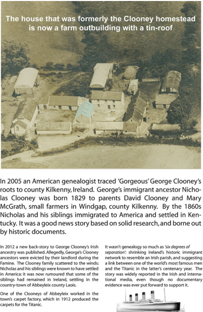 George Clooney's Kilkenny Connections
