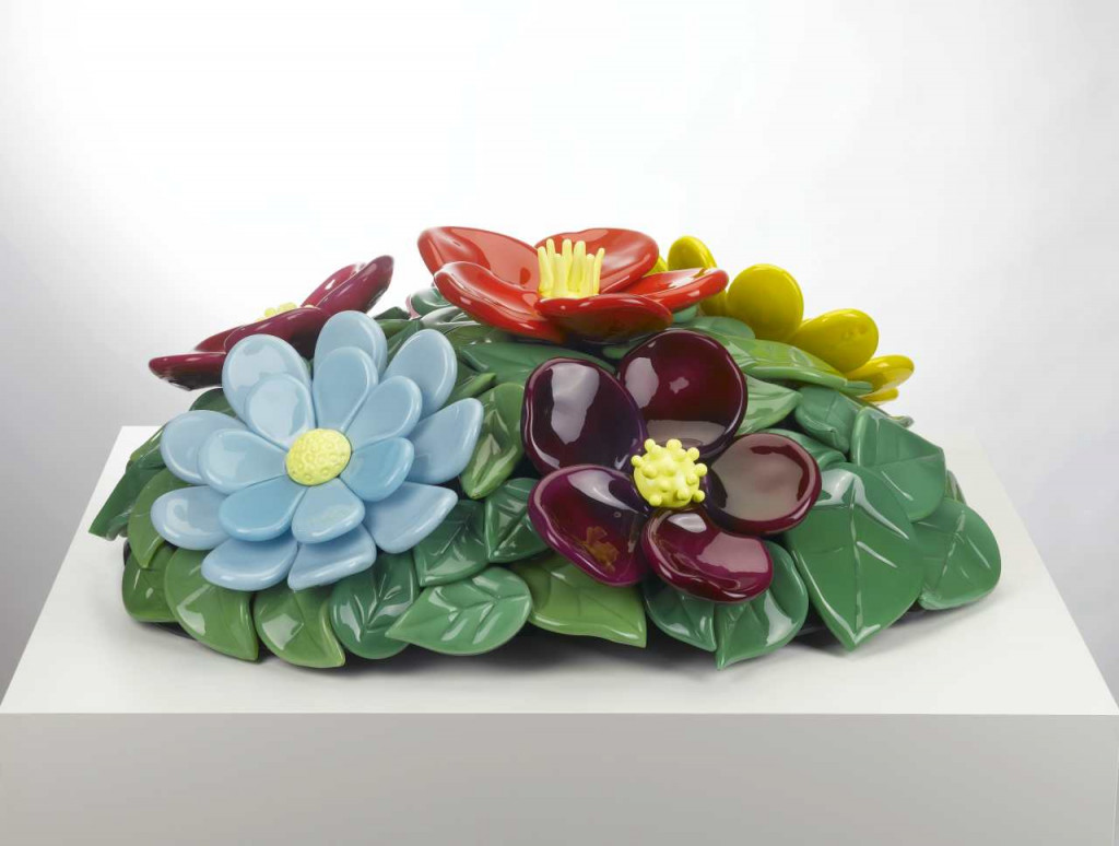 Jeff Koons, Mound of Flowers No. 1, 1991, Collection Stedelijk Museum Amsterdam
