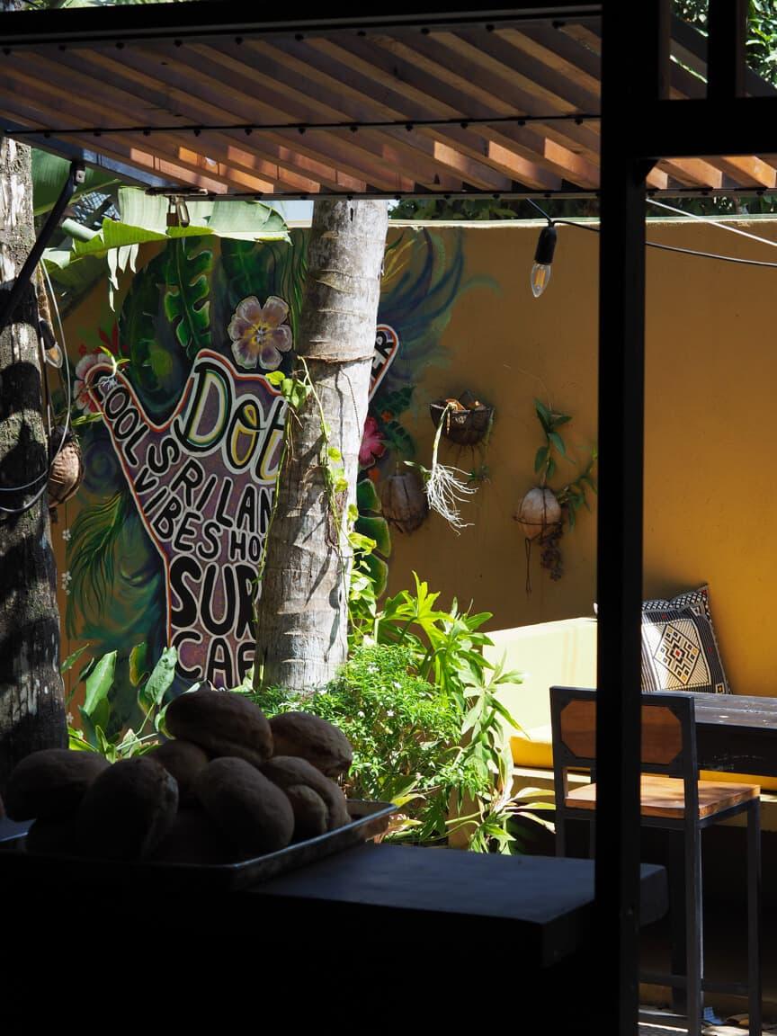 Co-working cafe Surf Cafe in Sri Lanka