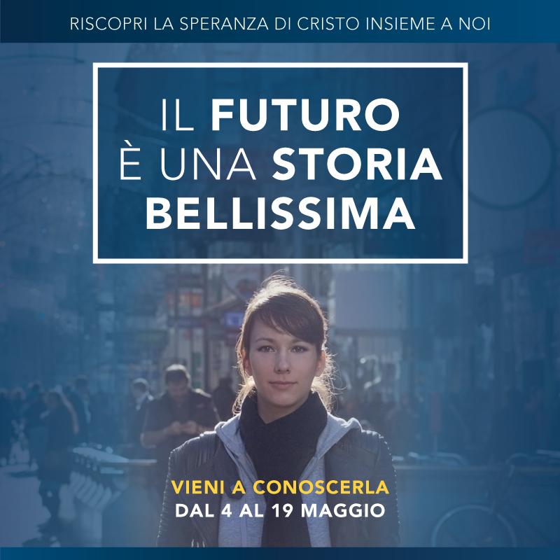 Il futuro è una storia bellissima – Incontri a Roma dal 4 al 19 maggio