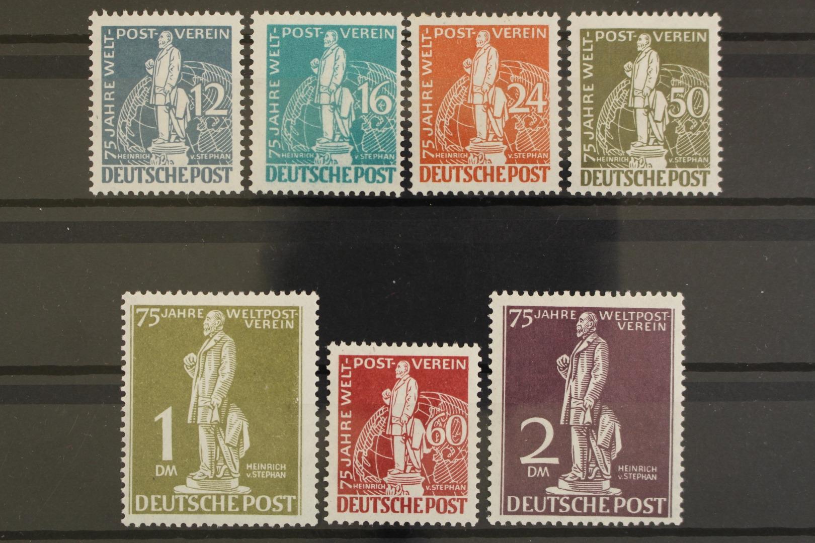 28 Geprüft Schlegel Siehe Bild Berlin 1949 Postfrisch Minr Geschichte
