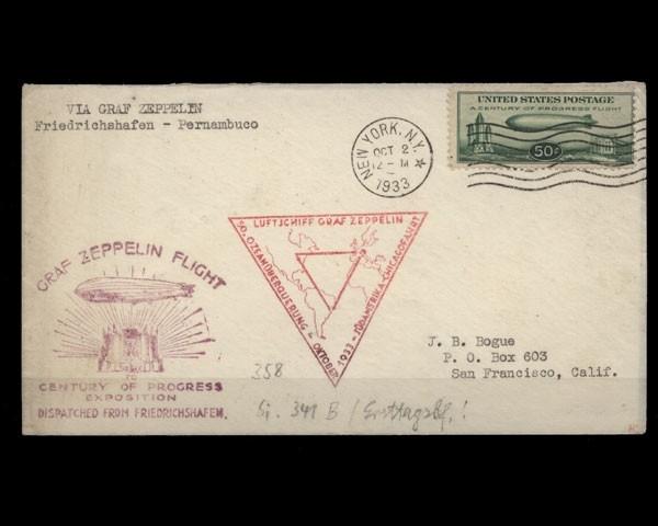Deutsches Reich Sieger Nr 241 B Zeppelin Brief Briefmarken Holsten