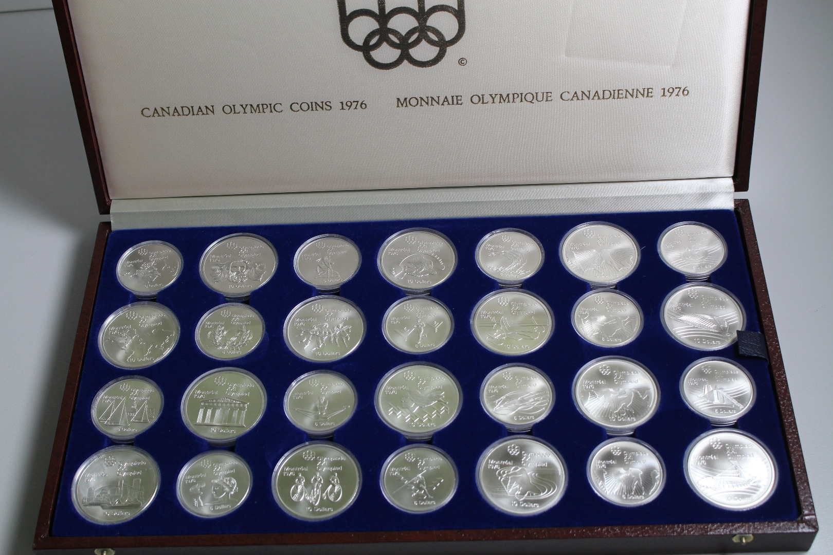 Kanada Olympiade Montreal 1976 5 Und 10 Dollar Münzen 28