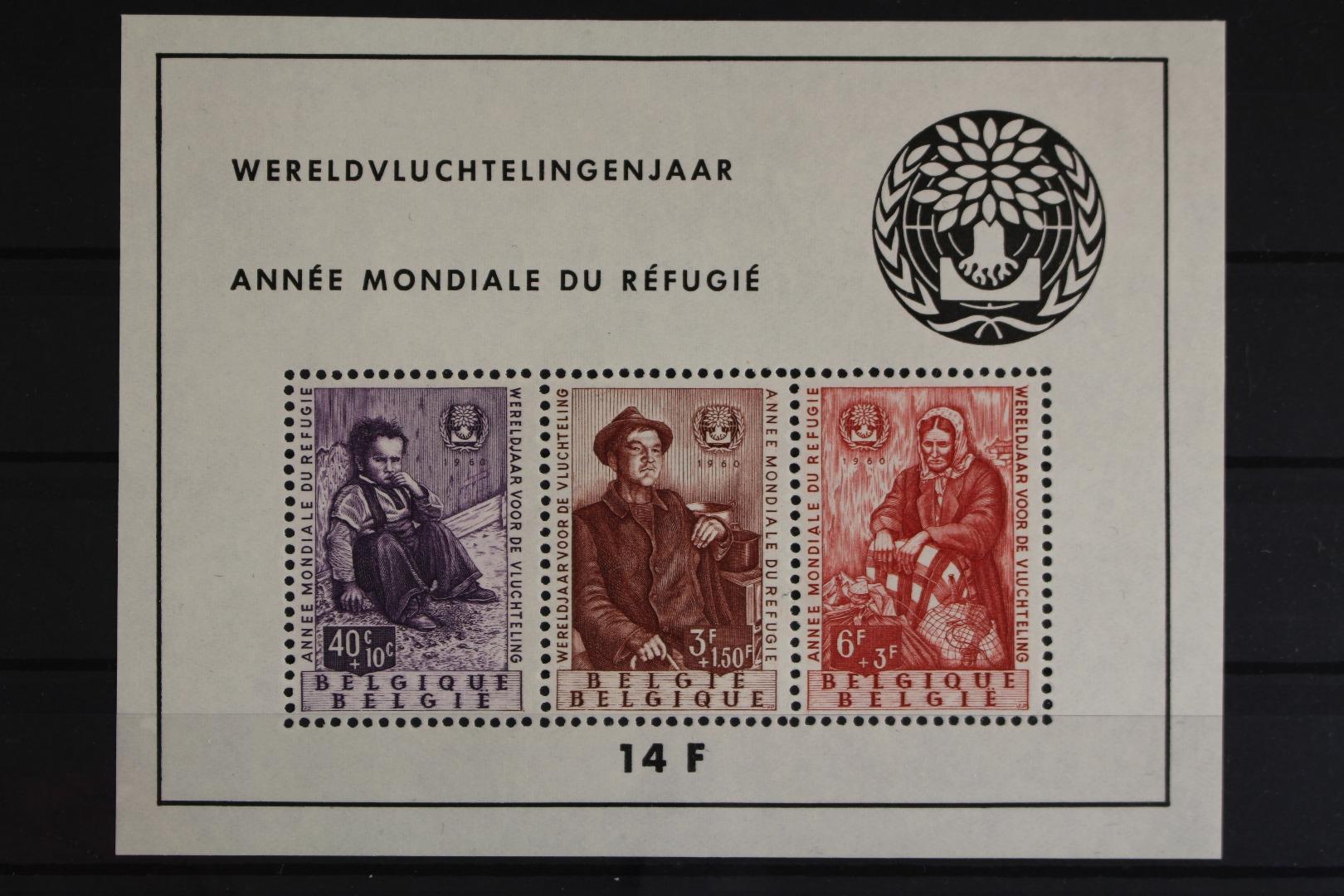 Briefmarken Belgien Mnh Europa