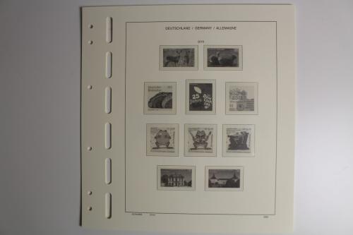 Briefmarken Schaubek 643n17b Nachtrag Bundesrepublik 2017 Brillant