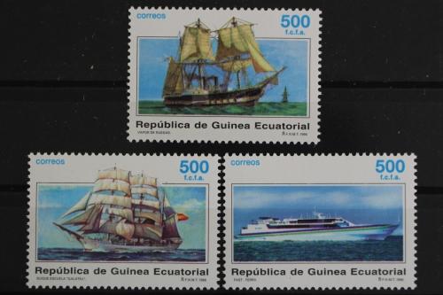 Segelschiff Walfangschiffe Block 249 Äquatorialguinea Äquatorialguinea