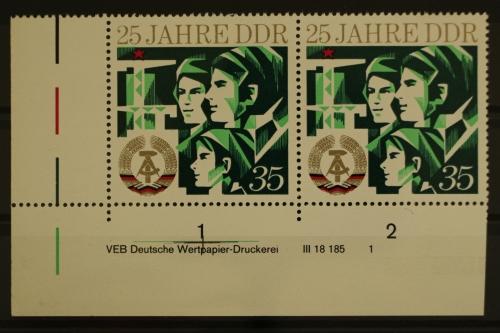 1886 Postfrisch ** Mnh Nr Ddr 1973 Mi