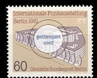 Berlin 1948-1990 Gestempelt Berlin Nr.637 Achim Von Arnim 1981