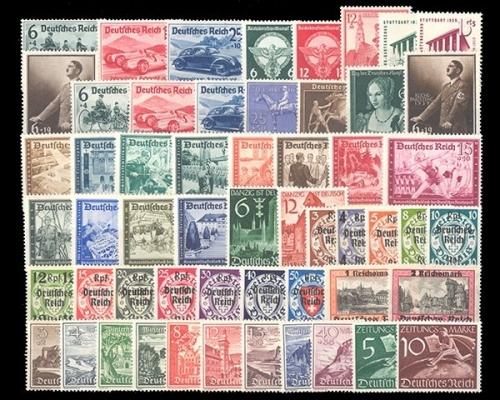 Jahrgang 1939686 Z739 Briefmarken Holsten