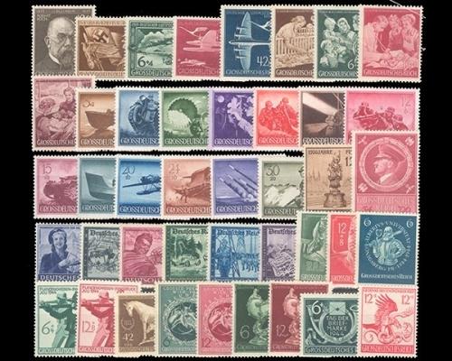 Iii Reich Komplett 1933 1945 Briefmarken Holsten