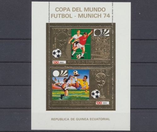 Fussball Wm 1974 Briefmarken Holsten
