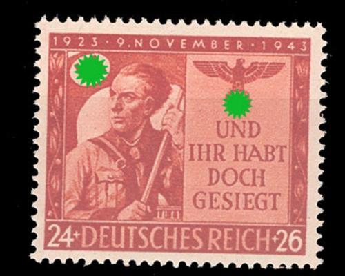 Jahrgang 1943828 863 Briefmarken Holsten