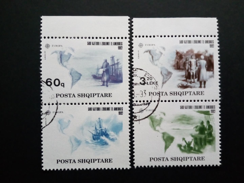 Briefmarken Albanien Posta Shqiptare 1992 Briefmarken