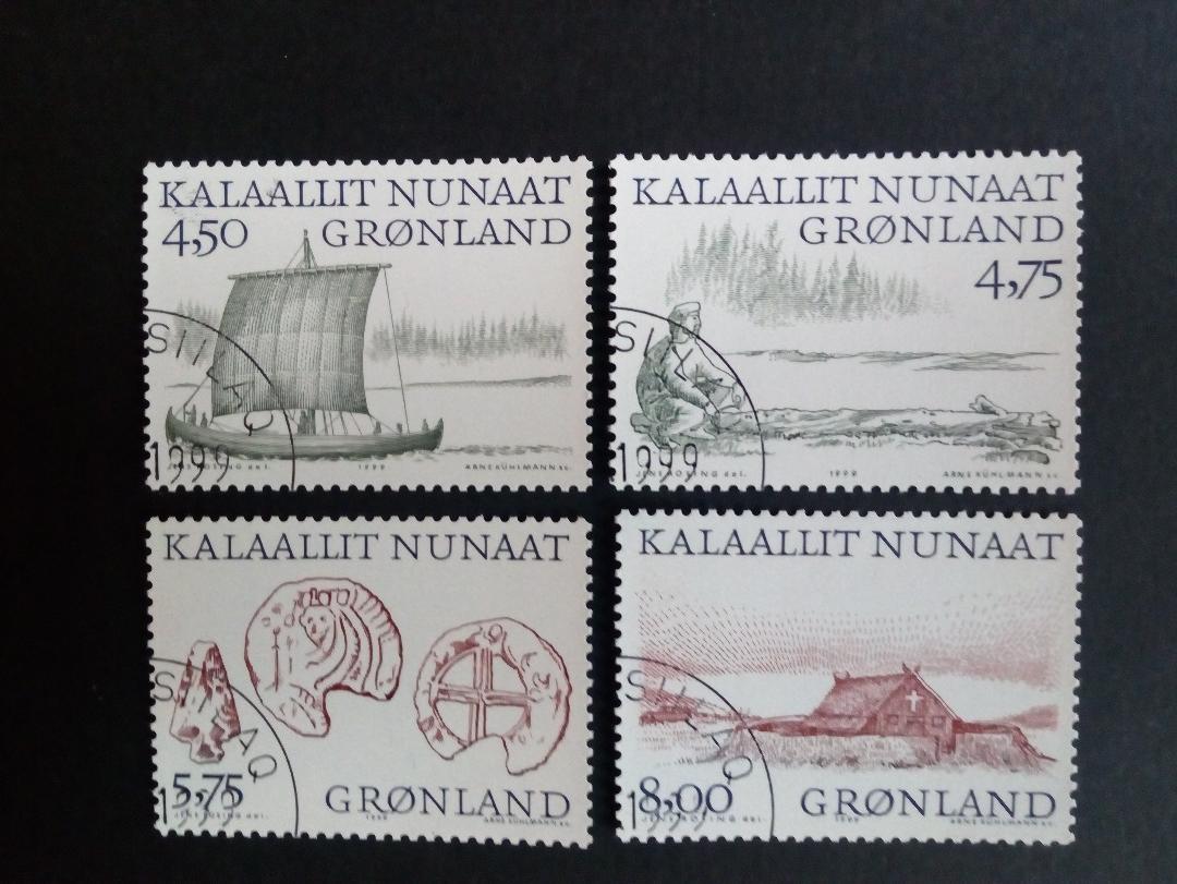 Briefmarken Briefmarken Dk Grönland Gestempelt Minr 95 Europa