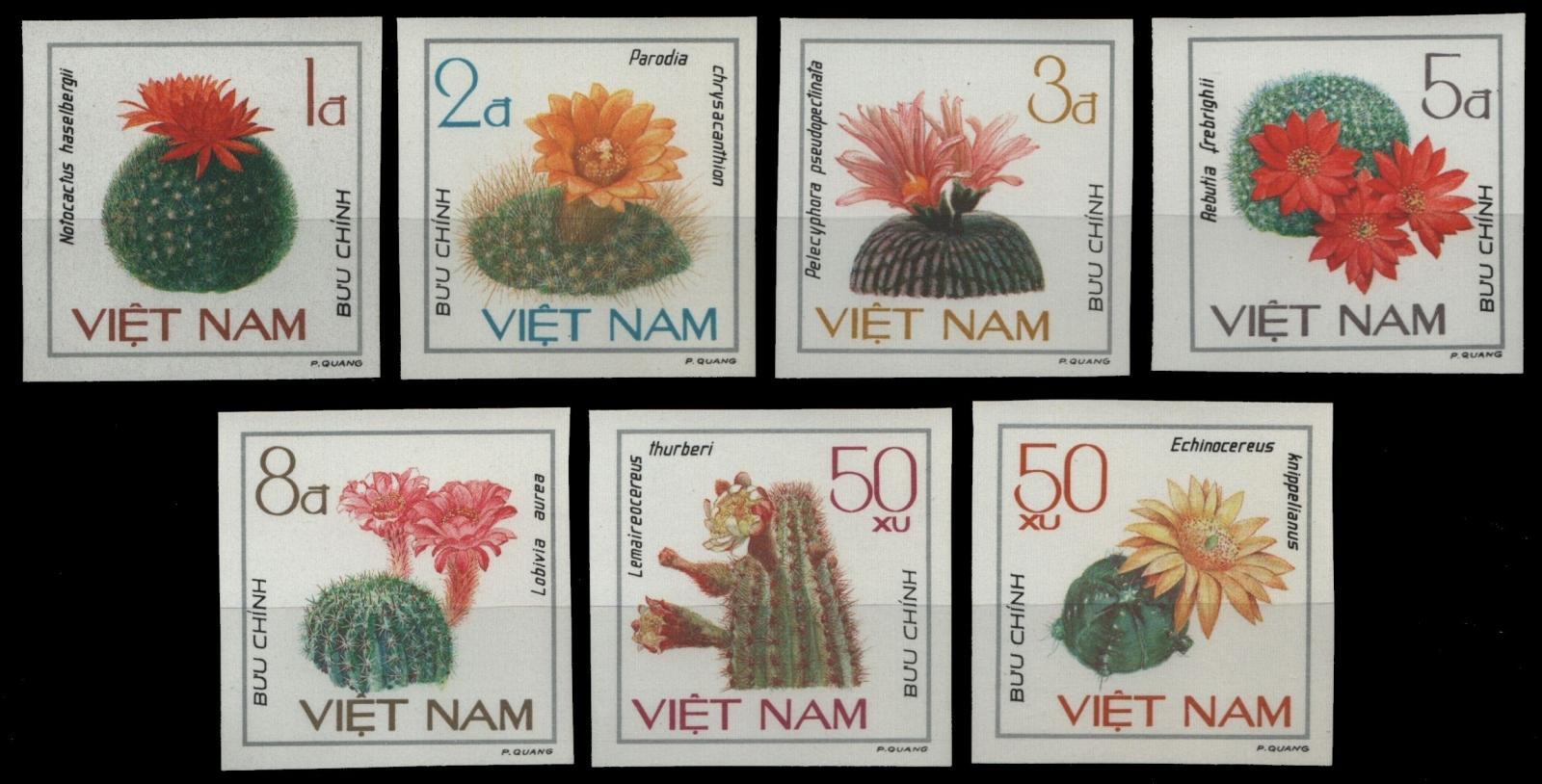 Ponctuel Vietnam 1985-mi-nº 1546-1551 U (*) - Sans élastique Occasionnée-cactus/cacti-afficher Le Titre D'origine Bon GoûT